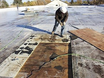 Flat Roof Repair Ready Roofing